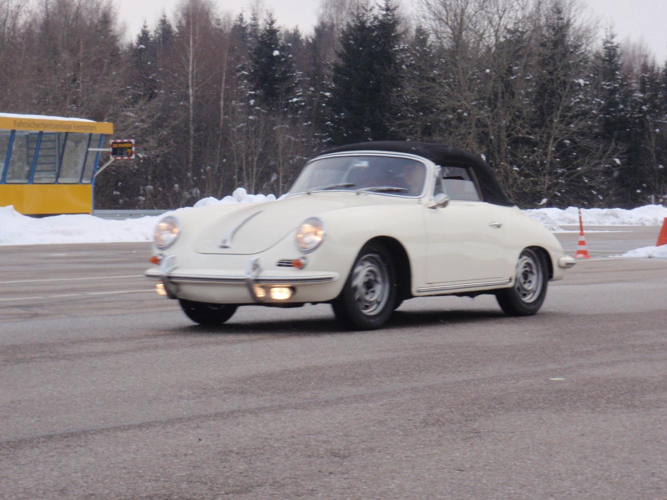 Porsche 356 erste Probefahrt