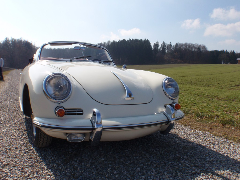 Porsche 356 SC nach Restauration