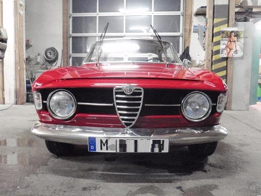 Alfa Romeo GT junior 1300 Bertone / Trockeneisstrahlen Unterboden
