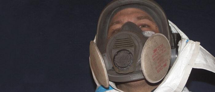 Trockeneisstrahlen und Sandstrahl-Verfahren